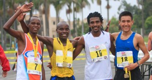 Top finishers from the 2010 America's Finest City Half Marathon